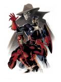 Daredevil & Captain America: Dead On Arrival Cover: Captain America and Daredevil Art by Claudio Villa