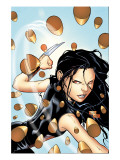 X-23 No.4 Cover: X-23 Prints by Tan Billy