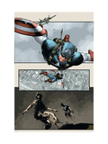 Captain America: The Chosen No.5 Cover: Captain America Poster by Mitchell Breitweiser