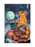 Marvel Adventures Fantastic Four No.8 Cover: Thing Prints by Carlo Pagulayan