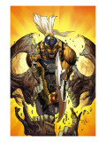 Dark Avengers: Ares No.2 Cover: Ares Kunstdruck von Tan Billy