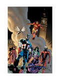 Avengers No.79 Group: Captain America Prints by Lee Weeks