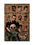 House Of M: Avengers 3 Cover: Punisher Poster by Mike Perkins