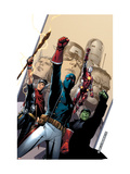 Young Avengers 2 Cover: Patriot, Hulkling, Iron Lad, Wiccan, Young Avengers and Asgardian Posters par Jim Cheung