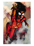 Spider-Woman No.5 Cover: Spider Woman Poster by Alex Maleev