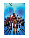 New Avengers No.7 Cover: Spider Woman Posters by David Finch