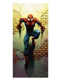 Ultimate Spider-Man No.72 Cover: Spider-Man Kunstdrucke von Mark Bagley