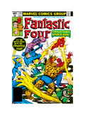 Fantastic Four No.218 Cover: Mr. Fantastic Posters van Frank Miller