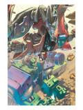 Mega Morphs No.2 Cover: Spider-Man and Hulk Posters by Kang Lou