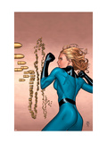 Marvel Knights 4 5 Cover: Invisible Woman Print by MCNiven Steve