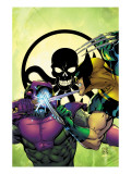 New Thunderbolts No.4 Cover: Wolverine and Swordsman Posters