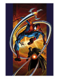 Ultimate Spider-Man No.57 Cover: Spider-Man and Doctor Octopus Prints by Mark Bagley