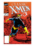 X-Men Classic No.44 Cover: Cyclops Print by Lightle Steve