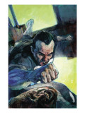 Punisher War Journal No.23 Cover: Punisher Prints by Alex Maleev