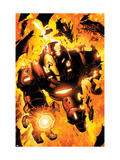 Iron Man: Hypervelocity 6 Cover: Iron Man Prints by Denham Brian
