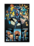 Avengers: The Initiative 28 Group: Night Thrasher Prints by Rafa Sandoval