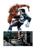 Daredevil Vs Punisher No.1 Cover: Daredevil and Punisher Prints by Dave Lapham