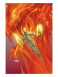 X-Treme X-Men No.45 Cover: Magma and Phoenix Prints by Salvador Larroca