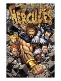 Incredible Hercules No.113 Cover: Hercules Prints by Arthur Adams