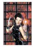 X-23 No.3 Cover: X-23 Prints by Tan Billy