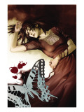 Runaways No.6 Cover: Minoru and Nico Posters by Adrian Alphona