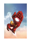 Marvel Adventures Iron Man No.12 Cover: Iron Man Prints