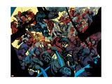 The New Avengers No.31 Group: Elektra Posters av Leinil Francis Yu