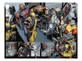 Uncanny X-Men 494 Group: Wolverine, Bishop, Colossus, X-23 and Hepzibah Prints by Tan Billy