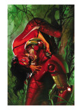 Secret Invasion 3 Cover: Iron Man and Spider Woman Posters