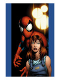 Ultimate Spider-Man No.78 Cover: Mary Jane Watson and Spider-Man Prints by Mark Bagley