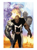 X-Men: The Times And Life Of Lucas Bishop No.1 Cover: Bishop Prints by Ariel Olivetti