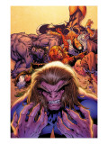 X-Men Forever No.2 Cover: Sabretooth Art by Tom Grummett