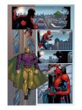 Marvel Knights Spider-Man No.14 Cover: Virtue and Spider-Man Kunstdruck von Billy Tan
