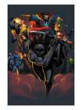 Handbook: Marvel Knights 2005 Cover: Black Panther Posters par Pat Lee