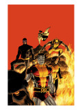 Astonishing X-Men 13 Cover: Cyclops, Wolverine, Colossus and Shadowcat Art by John Cassaday
