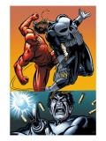 Daredevil Vs. Punisher No.4 Cover: Daredevil and Punisher Prints by Dave Lapham