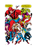 Giant-Size Avengers 1 Group: Giant Man Print by John Buscema