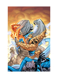 Marvel Adventures Fantastic Four No.34 Cover: Thing and Human Torch Posters by Tom Grummett