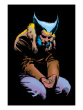 Wolverine No.3 Cover: Wolverine and Logan Flying Posters van Frank Miller
