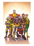Uncanny X-Men: First Class 1 Cover: Cyclops Prints by Roger Cruz