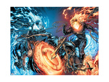 Ghost Rider No.28 Cover: Ghost Rider Posters by Marc Silvestri