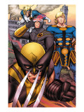 Eternals 7 Group: Ikaris, Wolverine and Cyclops Prints by Eric Nguyen