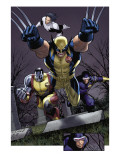Uncanny X-Men No.511 Group: Wolverine, Cyclops, Colossus and Northstar Posters by Land Greg