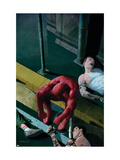 Daredevil 504 Cover: Daredevil Print by Ribic Esad