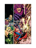 Avengers Classic 7 Cover: Thor, Captain America, Iron Man and Enchantress Prints by Arthur Adams