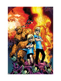 Secret Invasion: Fantastic Four 3 Cover: Thing Posters par Davis Alan