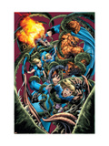 Fantastic Four No.565 Cover: Thing Print by Bryan Hitch