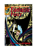 Fantastic Four No.267 Cover: Mr. Fantastic and Doctor Octopus Fighting Print by Byrne John