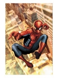 The Amazing Spider-Man No.549 Cover: Spider-Man Posters av Salvador Larroca