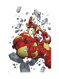 Iron Man & The Armor Wars No.4 Cover: Iron Man Art by Miyazawa Takeshi